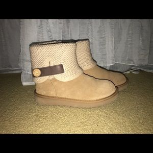 Knit Button Uggs
